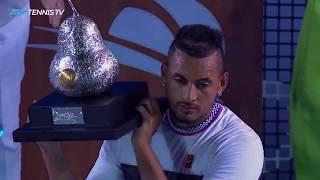 Kyrgios Defeats Zverev, Wins Acapulco Title!   Acapulco 2019 Final Highlights