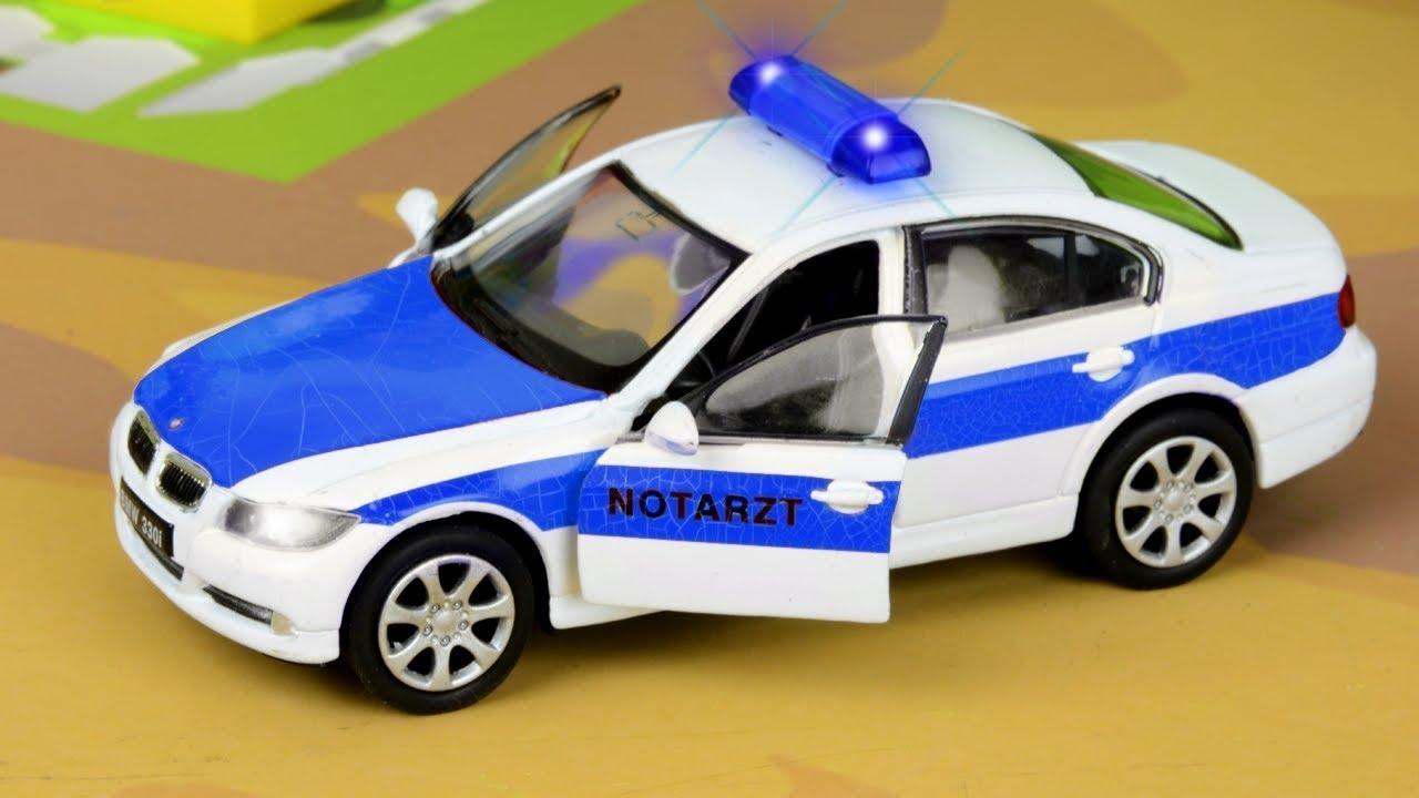 Macchina della POLIZIA cartoni animati POLIZIA. Macchina POLIZIA