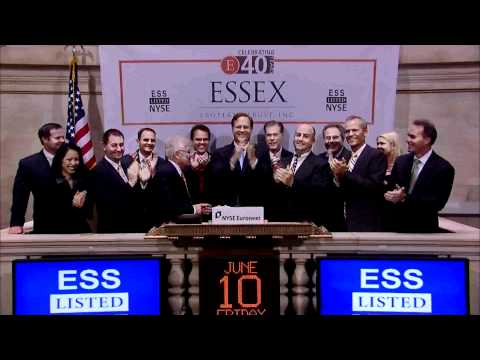 10 June 2011 Essex Property Trust rings the NYSE Closing Bell