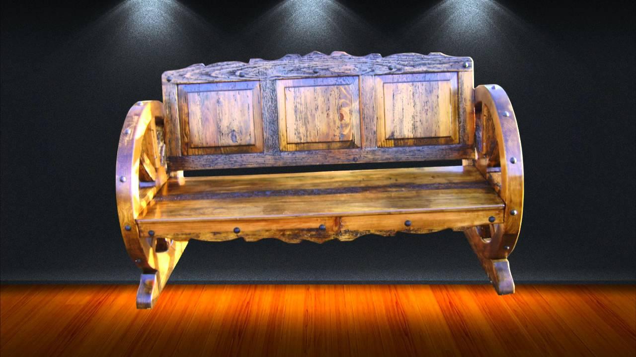 Muebles r sticos mexicanos artesan as de cobre muebles for Muebles vanitorios rusticos