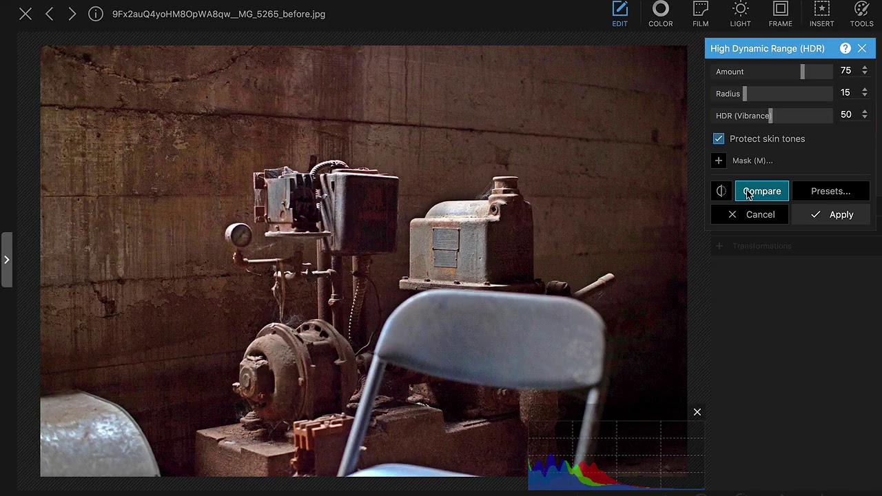 Fake HDR - PhotoScape X 2 9