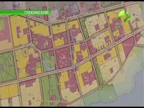 В названиях улиц  Губкинского вся история города