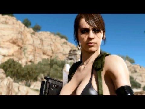 "Metal Gear Solid 5 | Turning ""Stefanie Joosten into Quiet"" BTS (3D Scan & Motion Capture) [EN]"