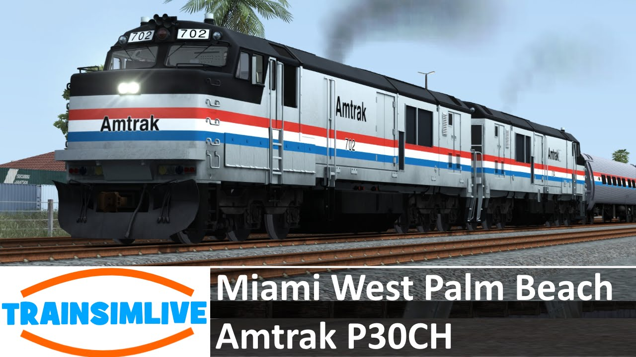 New Train From Miami To West Palm Beach