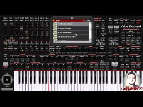 Azəri Set (Yeni ritmlər - New styles) - KORG PA4X Azəri - PC