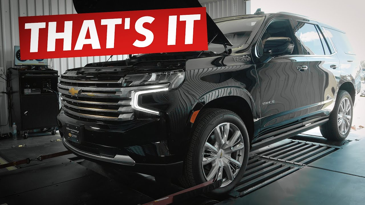 2021 Chevy Tahoe 6.2L V8 // CHASSIS DYNO TEST!