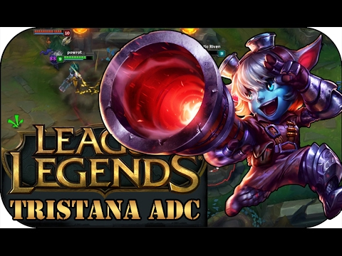 ICH SPIELE NIEMALS BOT! TRISTANA ADC | League of Legends Gameplay deutsch