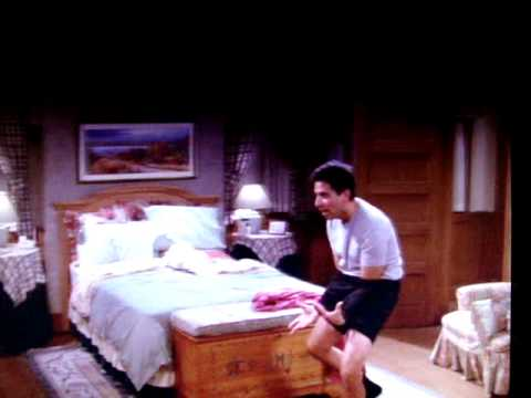 Raymond with his hands down his pants scene from Everybody Loves Raymond