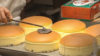 Japanese Cheese Cake - Uncle Rikuro's CHEESECAKE Osaka Japan