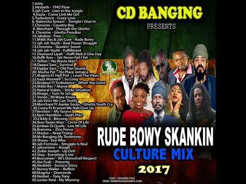 CD BANGING   RUDE BOWY CULTURE MIX,CHRONIX.JAH CURE,NESBETH