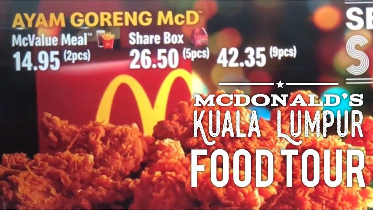 Malaysia Ayam Goreng Mcd Price