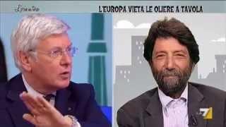 """ROMANI: """"BARROSO NON HA LE PALLE DI CHIAMARE QUEL CAPORALETTO TEDESCO.."""""""