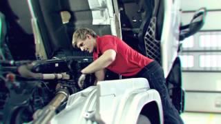Scania ergonomics for Service Technicians -- Shoulders