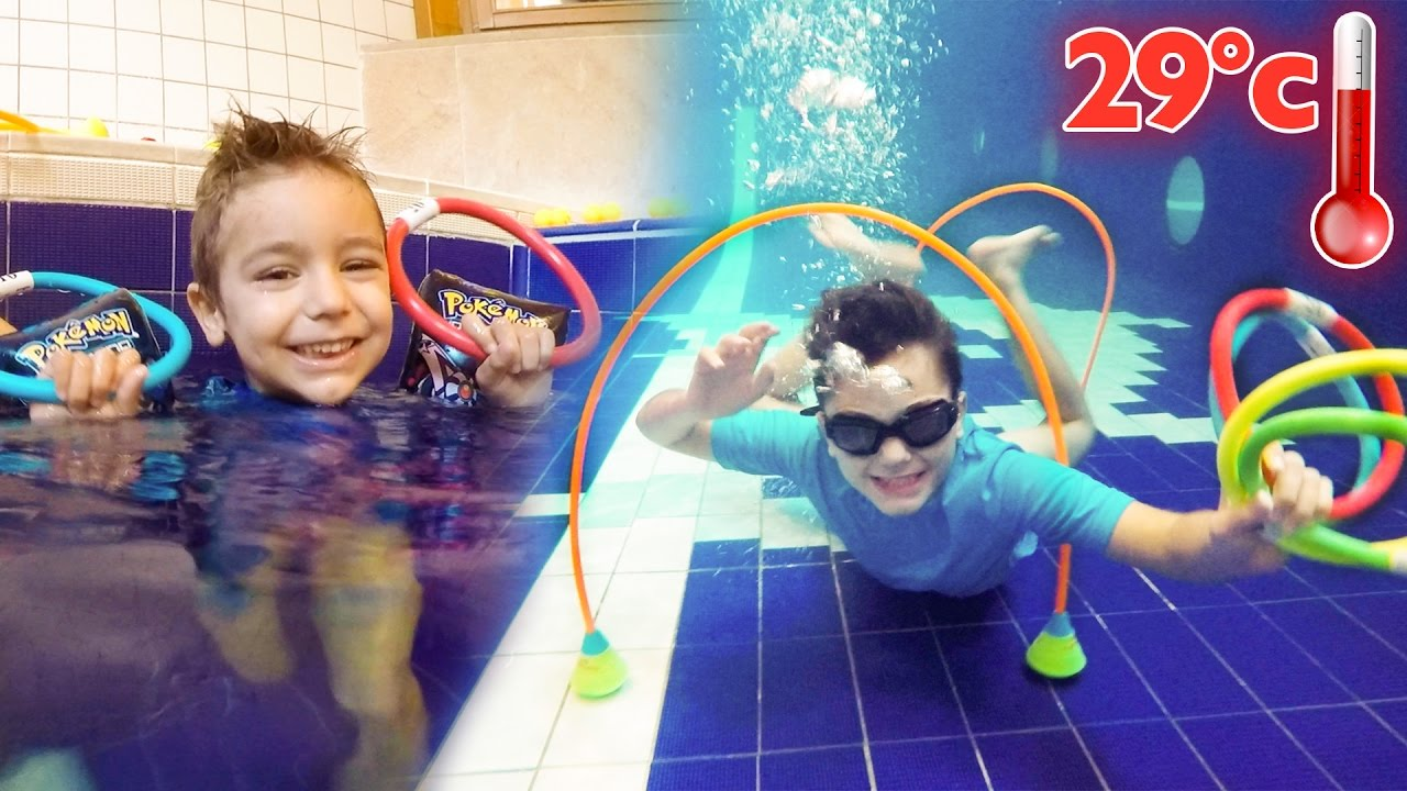Challenges d fis piscine chauff e 29 youtube for Swan et neo piscine