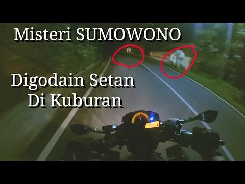 Uji Nyali Di SUMOWONO Tepat Tengah Malam | Semarang Motovlog