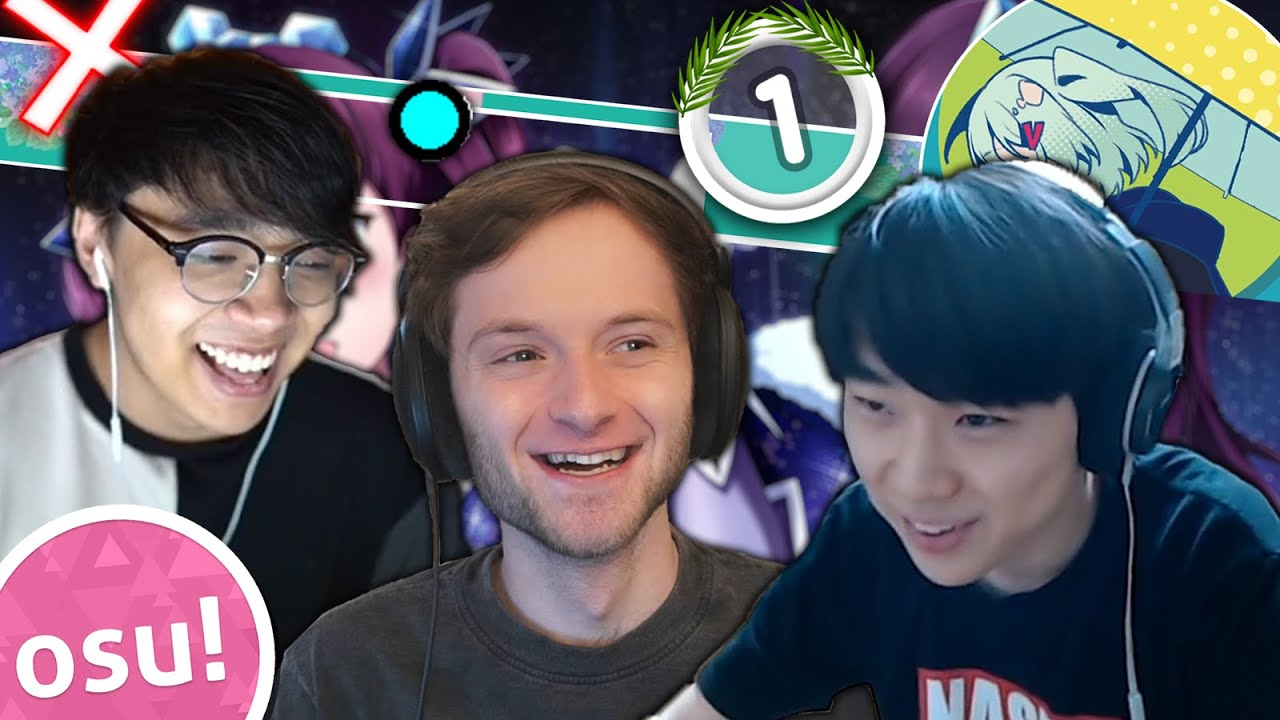 I Challenged 2 osu! YouTubers to See Who Can Make the Best Skin
