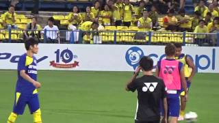 明治安田生命J1リーグ 第6節 柏レイソルvsヴィッセル神戸 試合前.