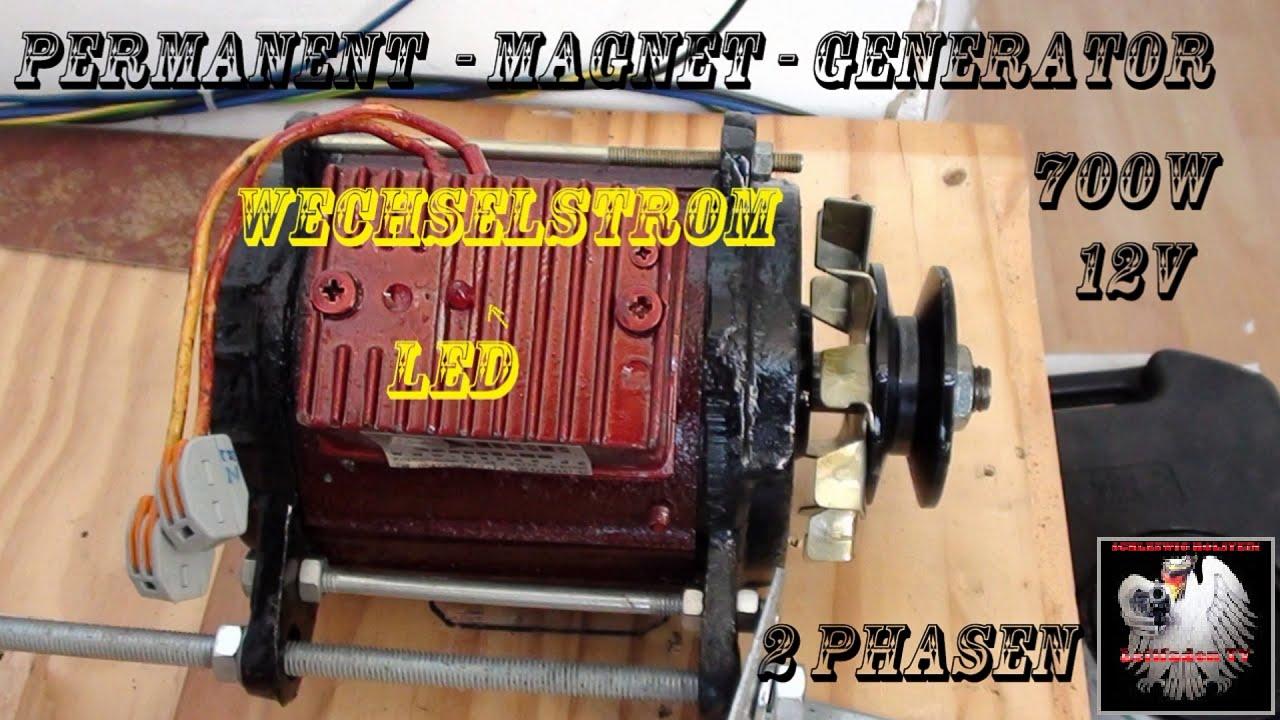 Freie Energie - Magnet Generator/ Motor - YouTube