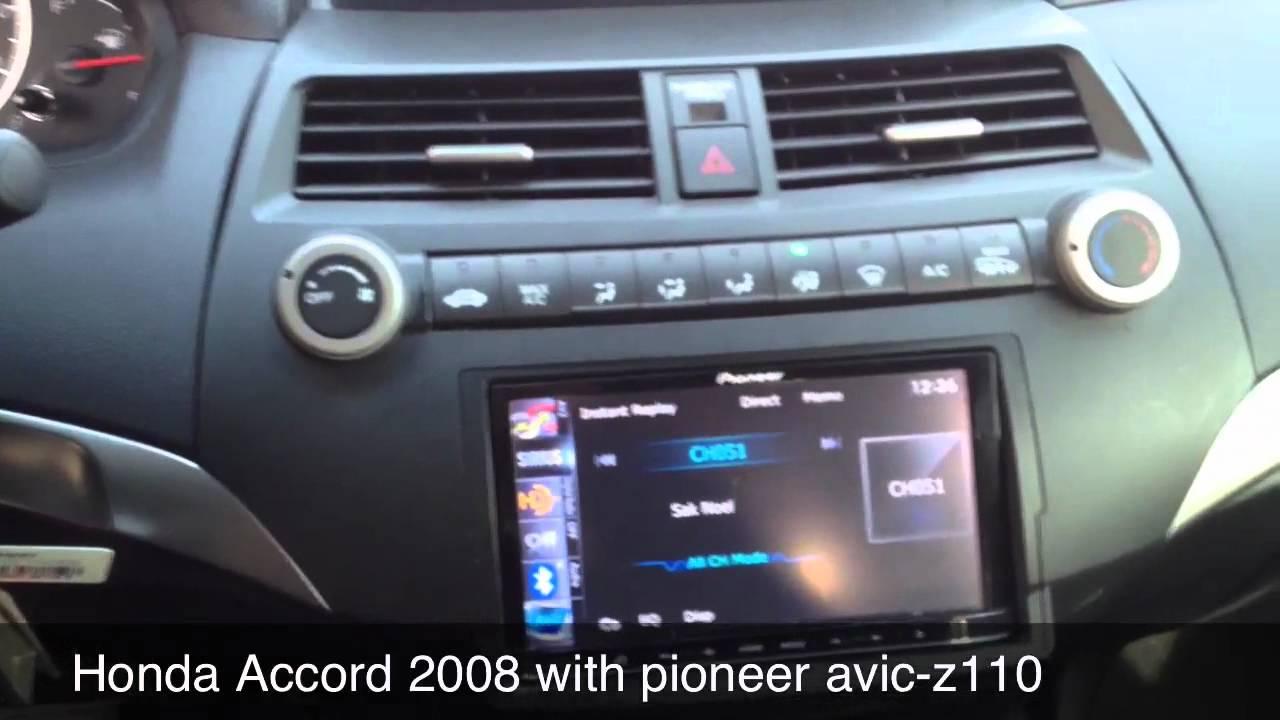 Honda Accord 2008 Project Part 1 Youtube Avic X9310bt Pioneer Radio Wiring Diagram