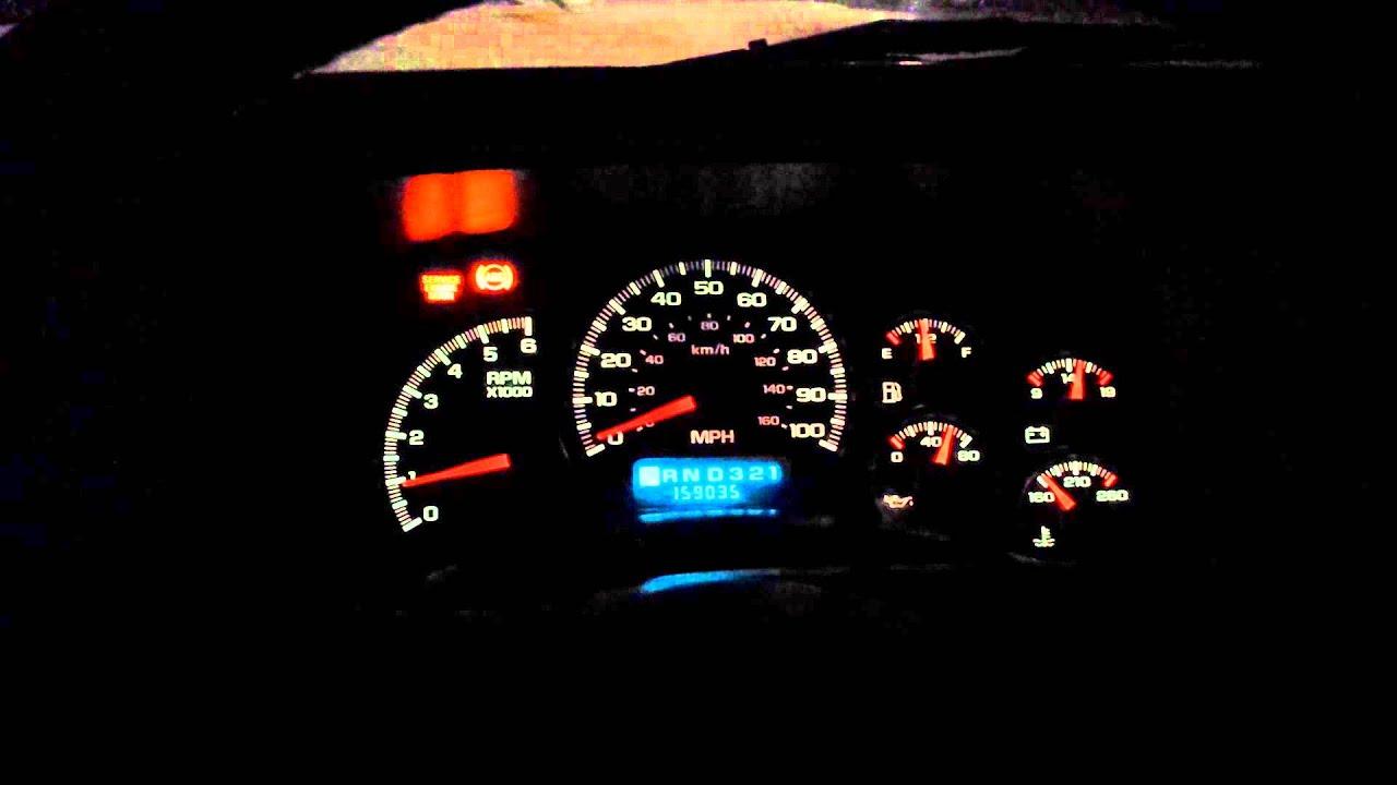 99 Chevy Silverado Rough Idle