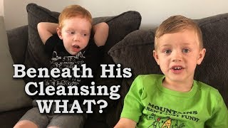 Beneath The Cleansing WHAT? My Boys Argue About Song Lyrics