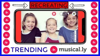 "RECREATING TRENDING MUSICAL.LY ""SISTER FOREVER"""