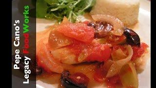 "Legacy Foodworks #12 Fish Filet ""veracruz"""