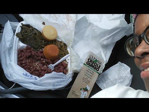 Mukbang / Chat & Chew : Louisiana Creole Gumbo