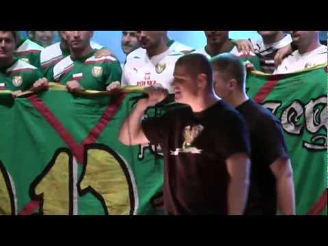 Legion Szczęśliwa- Ten Klub! Prezentacja Śląska Wrocław Rynek 2011