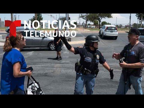 Noticias Telemundo informa sobre el tiroteo en El Paso, Texas que dejó al menos 19 muertos
