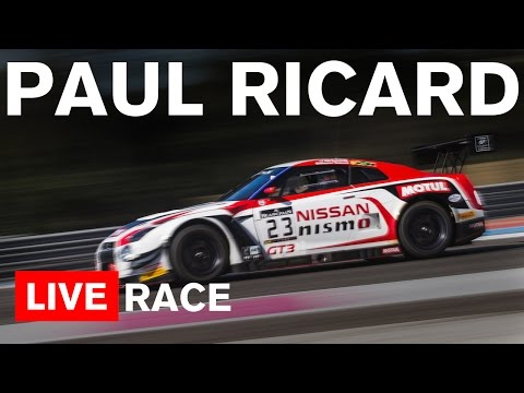Blancpain Endurance 2016 - Paul Ricard 1000km - Full Main Race and ONBOARD  - LIVE