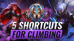 5 AMAZING Shortcuts For Climbing You'll Wish You Knew SOONER - League of Legends Season 10