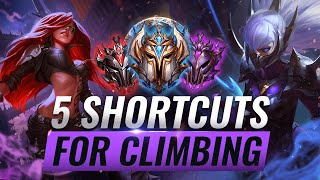 5 AMAZING Shortcuts For Climbing You'll Wish You Knew SOONER - League of Legends Season 10