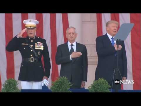 Donald Trump Sings the National Anthem