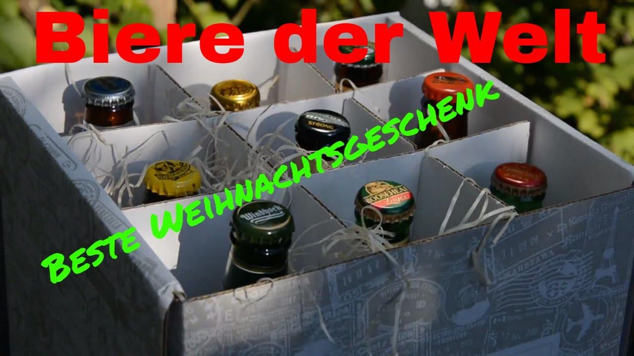Geschenke Set Biere der Welt beste Weihnachtsgeschenk für Männer ...