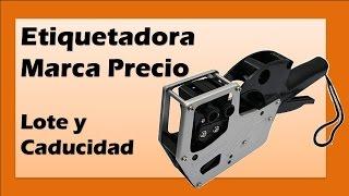 Video Etiquetadora Marca Precio para Lote y Caducidad de uso rudo tipo Pistola download MP3, 3GP, MP4, WEBM, AVI, FLV Agustus 2018
