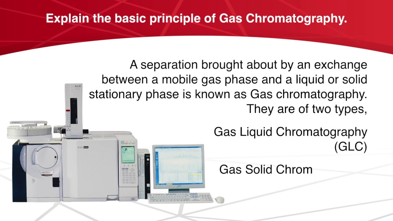 What are Applications of Gas Chromatography  | Chromatography | Analytical  Chemistry