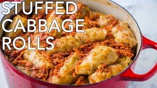 Dinner: Stuffed Cabbage Rolls (Golubtsi) - Natasha's Kitchen