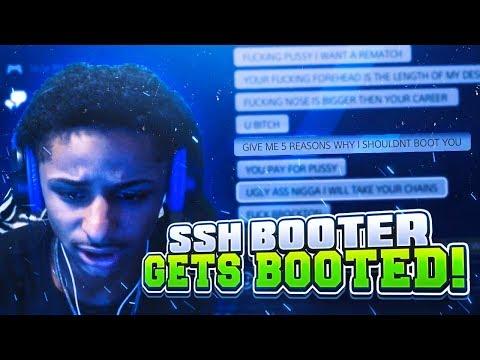SSH FANBOY BOOTER GETS BOOTED OFFLINE! I SET HIM UP AND GET MY REVENGE NBA 2K17 (FUNNY)