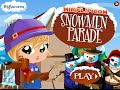 Snowmen Parade Miniclip Online Free Games GAMEPLAY VİDEO For Kids Girls Baby