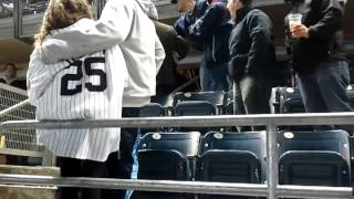 Fight!!! Mayhem in Section 328: Why not to wear Red Sox Gear in Yankee Stadium: Round 1