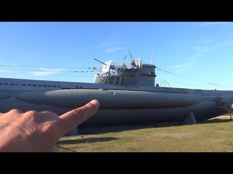 Inside a German WW2 Submarine - Touring  U995 U-Boot