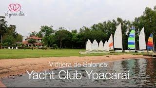Vidriera de Salones: Yacht Club Ypacaraí