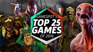 GameSpot's Top 25 Games of 2016