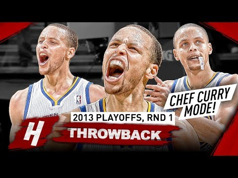 The Series Stephen Curry Became CHEF CURRY! Full Highlights vs Nuggets 2013 Playoffs - Playoff Debut