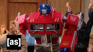 Optimus Prime: Juror | Robot Chicken | Adult Swim