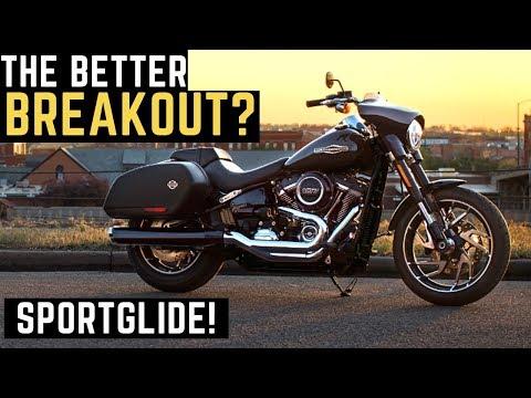 The Better Breakout? 2019 Harley Sportglide 107 Demo Ride Review Impressions Walk Around Sport Glide