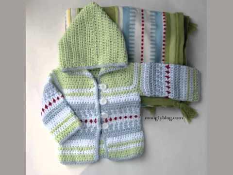Baby Layette Crochet Patterns Youtube
