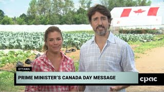 Pm Justin Trudeau Delivers Canada Day Address In Ottawa – July 1, 2020