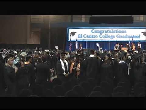 El Centro College Commencement 2017 Part 1